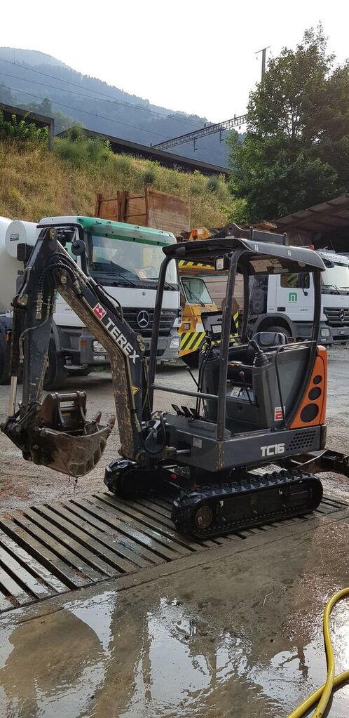 mini excavadora TEREX TC16