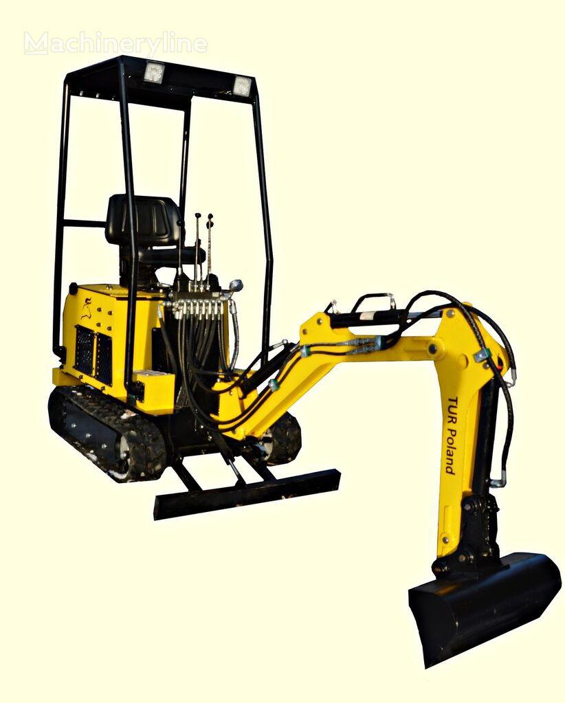 TUR Poland Minibagger TUR V122 Mini excavator mini excavadora nueva