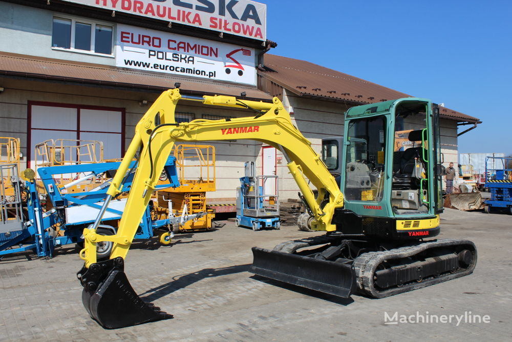 mini excavadora YANMAR YANMAR VIO50-U