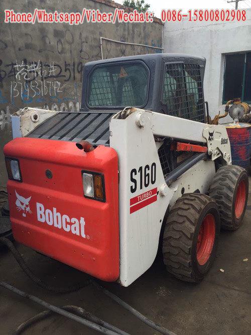 minicargadora BOBCAT S160