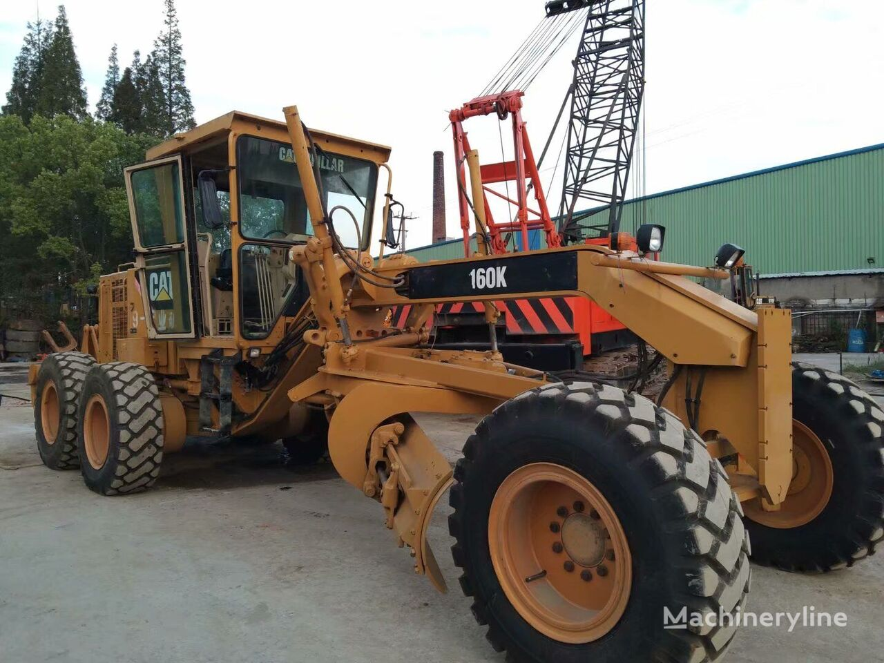 CATERPILLAR 160K motoniveladora