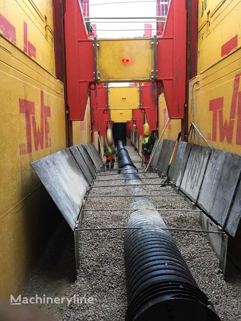 TWF Double Slide Rail Shoring / Verbau otra maquinaria de construcción