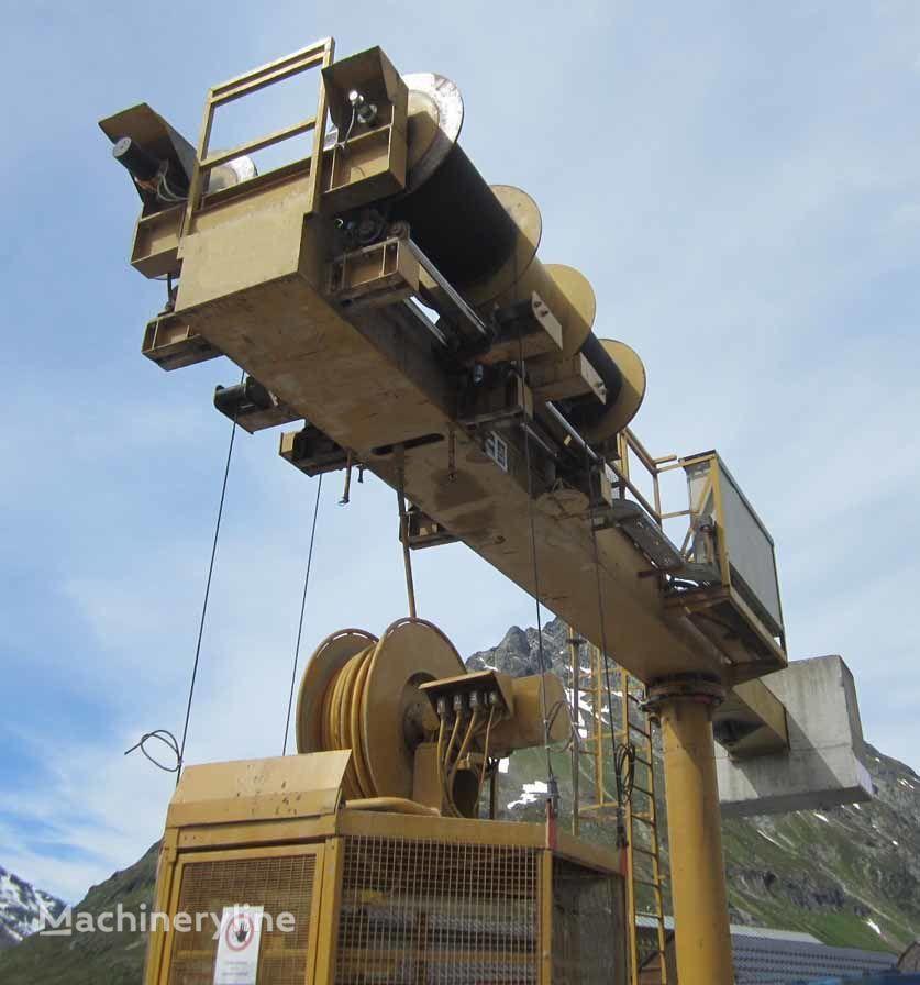 De Nicola Manhole drive system otra maquinaria de minería subterránea