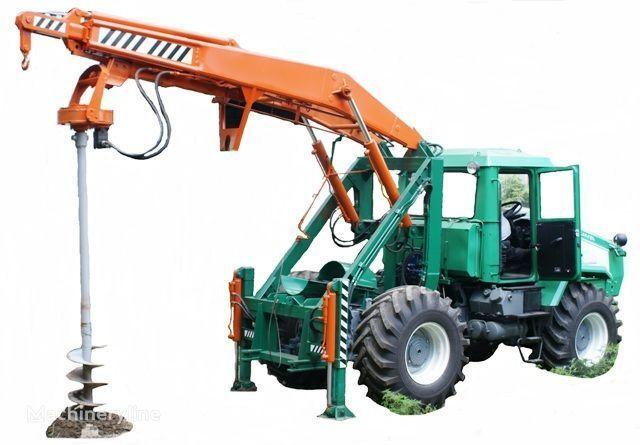HTZ Burilno-kranovaya mashina BKM-3U na baze traktorov HTZ 150K-09, H otros maquinaria de construcción