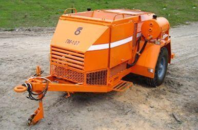 PM 107 Recikler asfaltobetona otros maquinaria de construcción