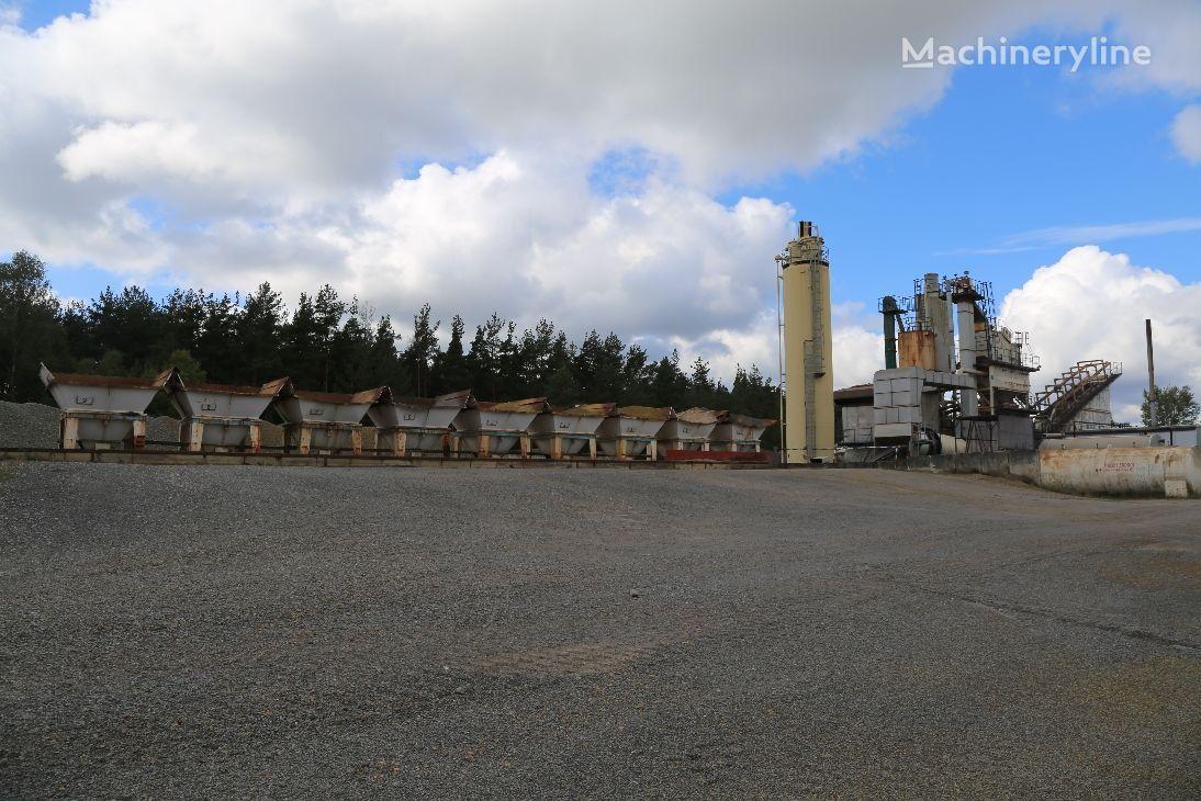 AMMANN 160 to./h. planta de asfalto