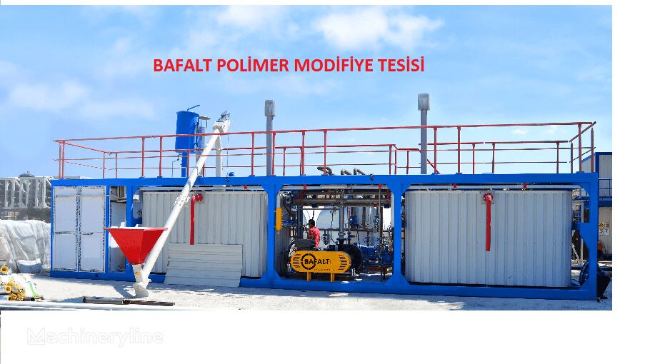 BAFALT POLYMER MODİFİED PLANT planta de asfalto