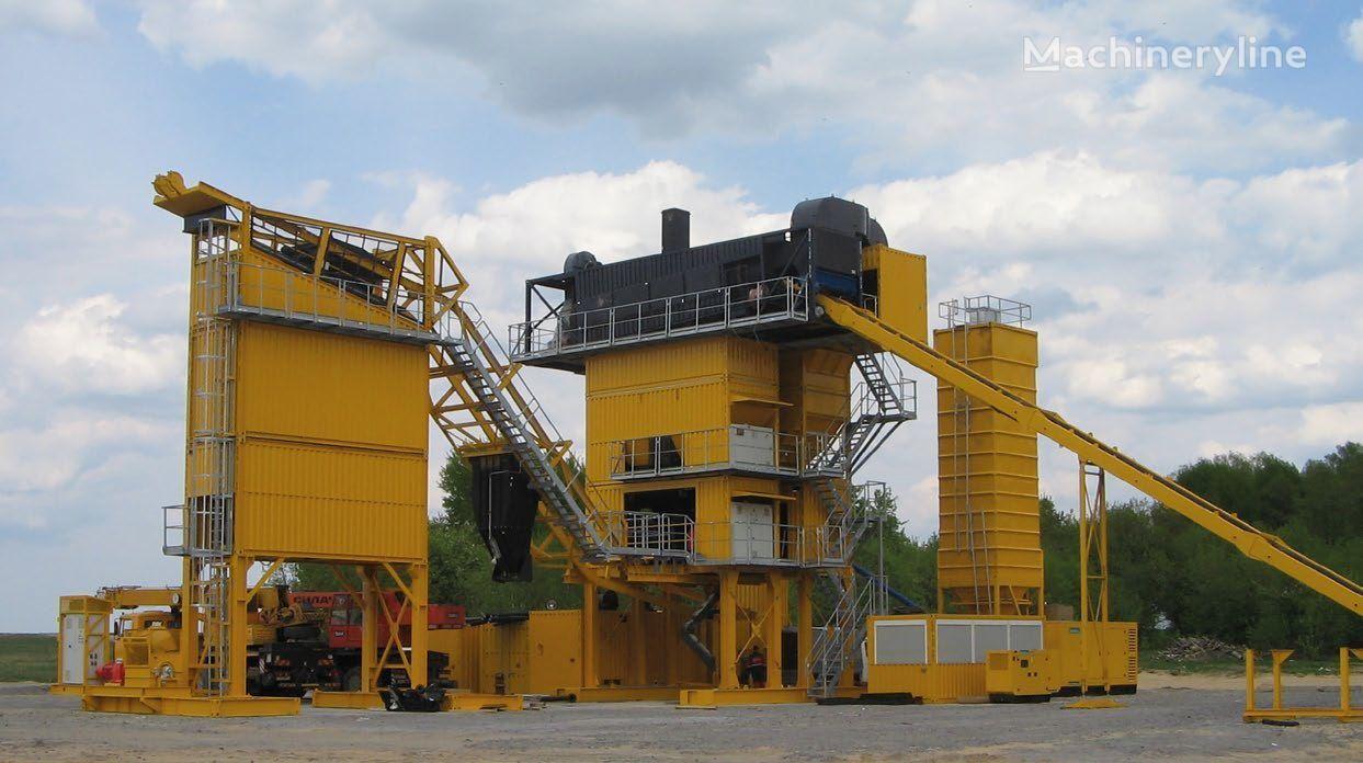 LINTEC CSD 2500B MOBILE ASPHALT PLANT * 160 TO./H * planta de asfalto nueva