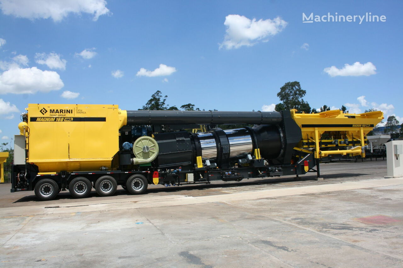 MARINI Magnum 160 mobile planta de asfalto nueva