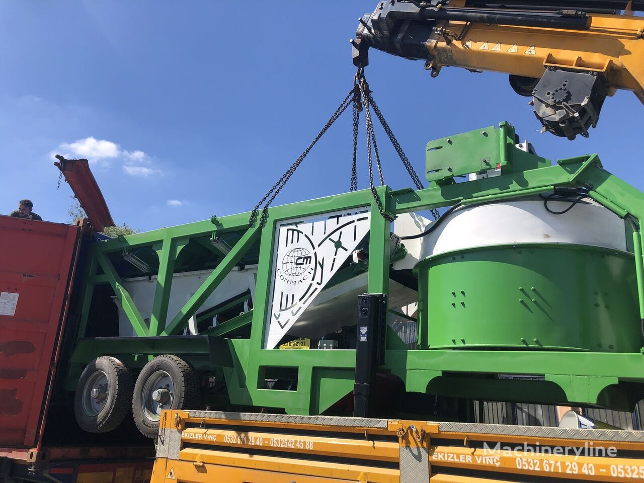 CONMACH MOBKING-30CP planta de hormigón nueva