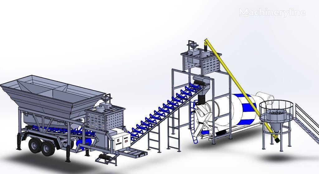 CONMACH MobKing-30 CP planta de hormigón nueva