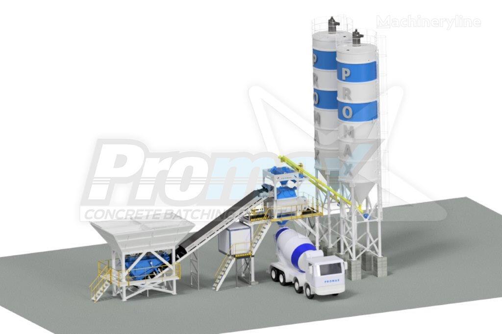 PROMAX Compact Concrete Batching Plant C100-TWN PLUS (100m³/h) planta de hormigón nueva