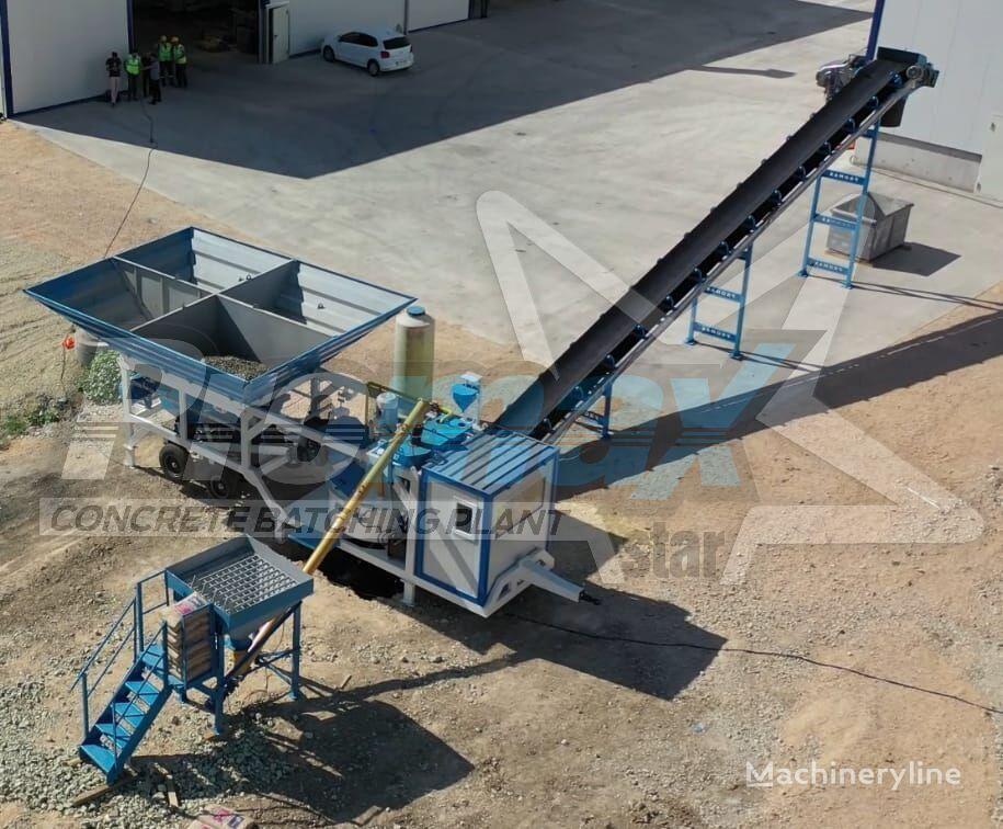 PROMAX Planta de Hormigón Móvil M35-PLNT (35m³/h) planta de hormigón nueva