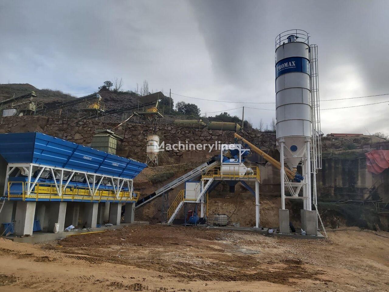 PROMAX Planta de hormigón Compacta C100-TWN LINE(100m³ / h) planta de hormigón nueva