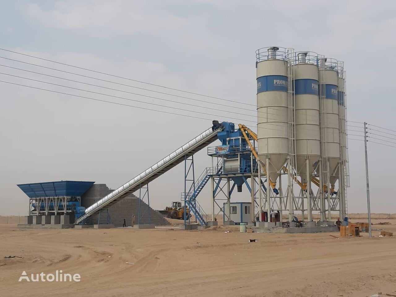 PROMAX S130-TWN (130m3/h) STATIONARY Concrete Batching Plant  planta de hormigón nueva