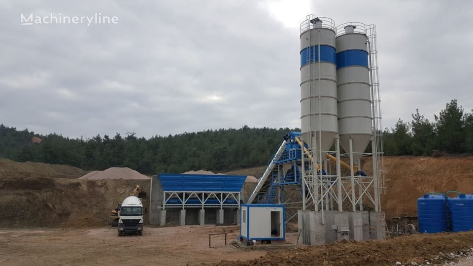 planta de hormigón PROMAX STAR S100-SNG Stationary Concrete Batching Plant Single Shaft nueva