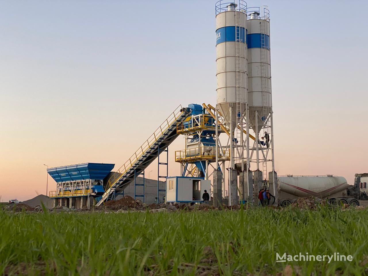 PROMAX STACIONARNYY BETONNYY ZAVOD S130 TWN (130 m³/ch)     planta de hormigón