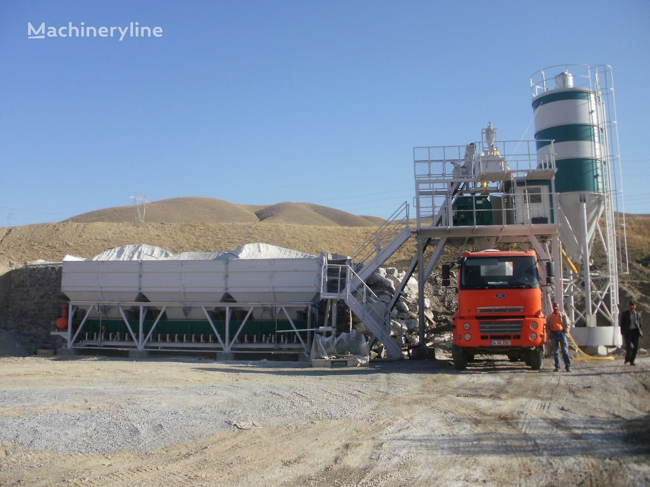 SEMIX KOMPAKTNE BETONARE planta de hormigón nueva