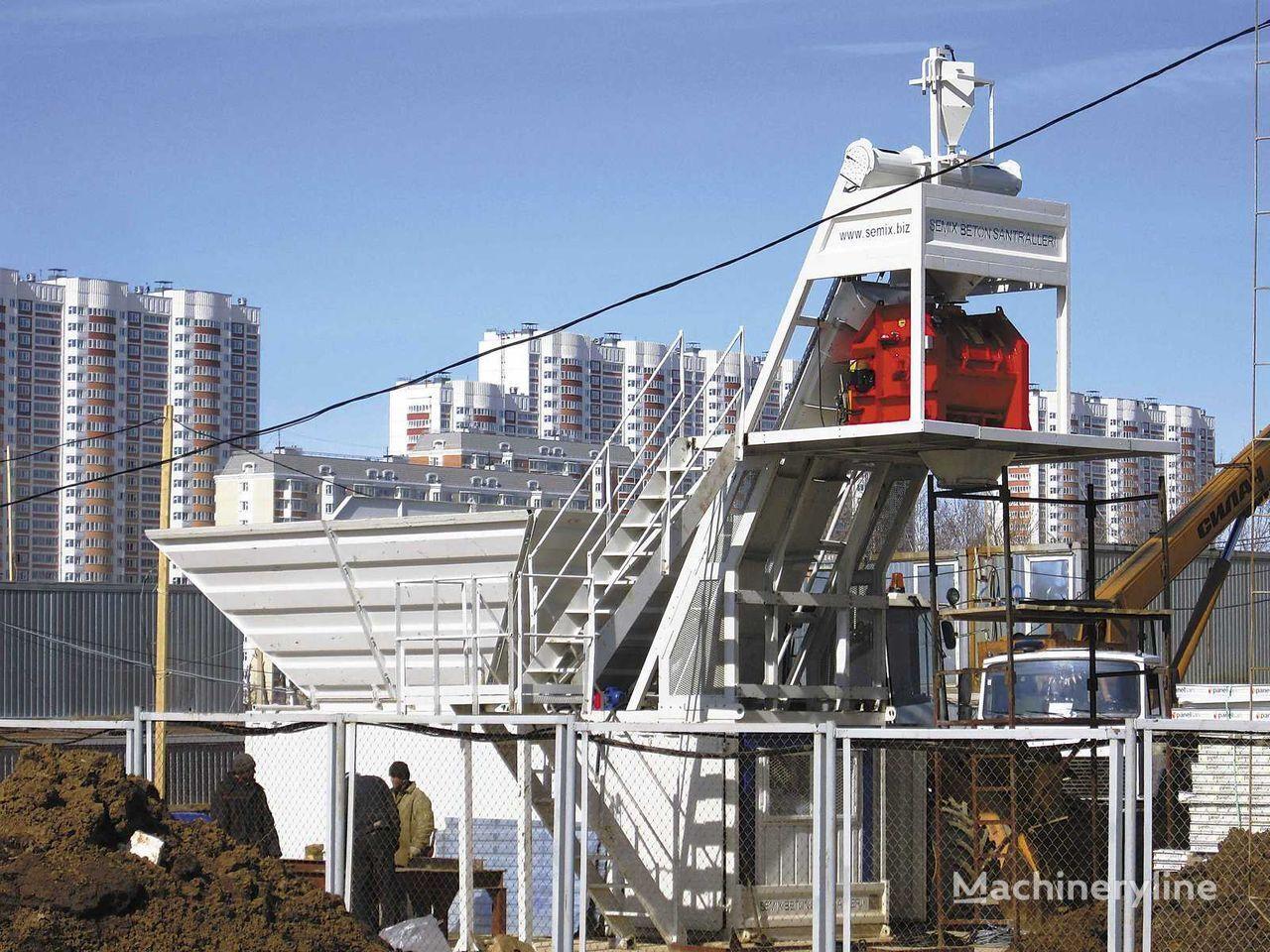 SEMIX Kompakt 30  KOMPAKTNÍ BETONÁRNY 30m³/h planta de hormigón nueva