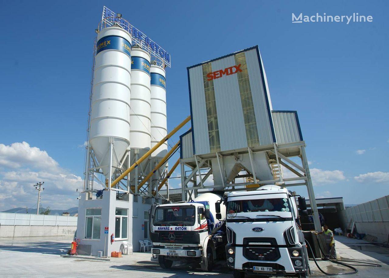 SEMIX Stacionarna Betonara 130  STACIONARNE BETONARE 130m³/sat planta de hormigón nueva