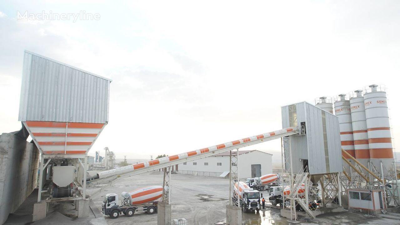 SEMIX  Stacionarna Betonara 240  STACIONARNE BETONARE 240m³/sat planta de hormigón nueva