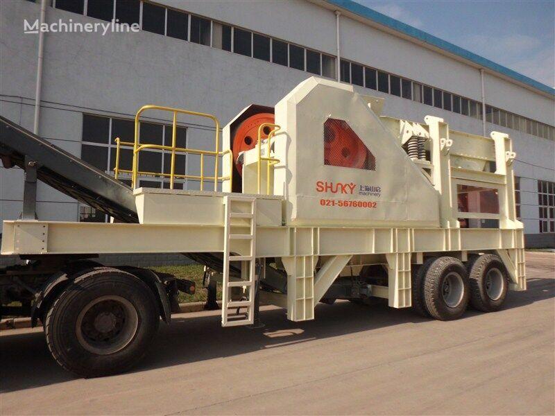 METSO 100TPH planta trituradora móvil nueva