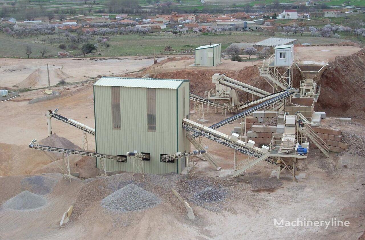 HAZEMAG 120 mt/h planta trituradora