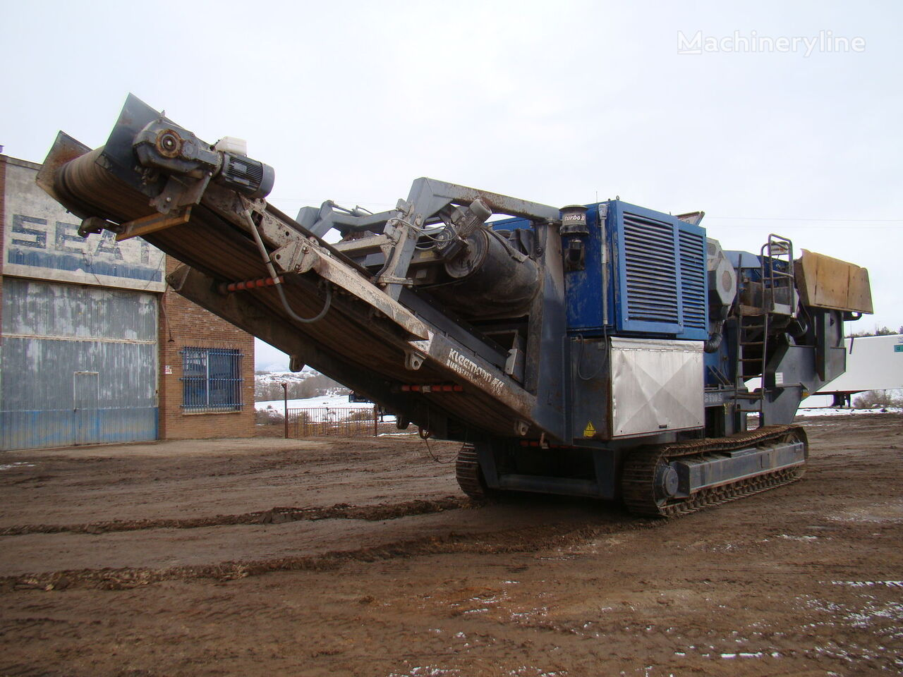 KLEEMANN MC 110 Z planta trituradora