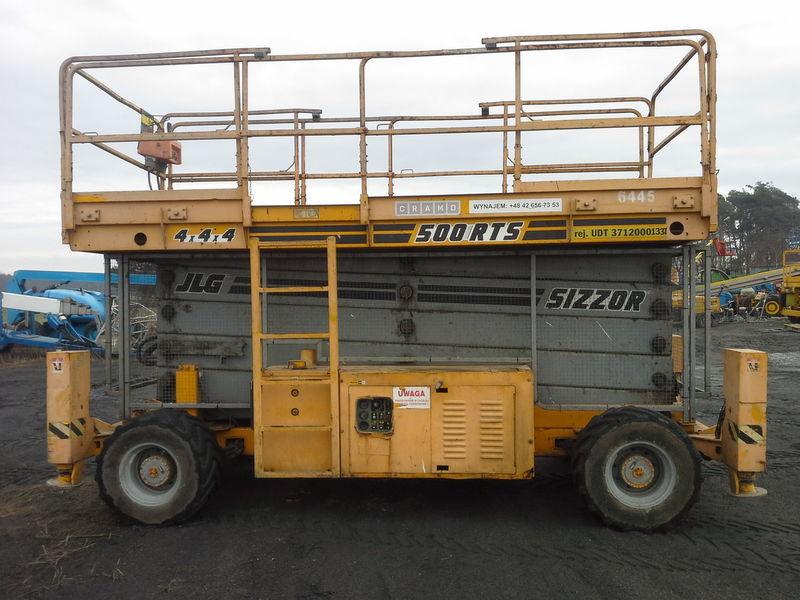 JLG 500 RTS  4*4*4 plataforma de tijera
