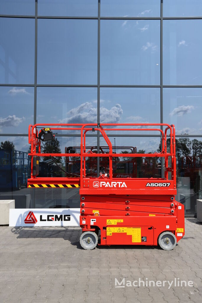 plataforma de tijera LGMG PARTA  AS0607 nueva