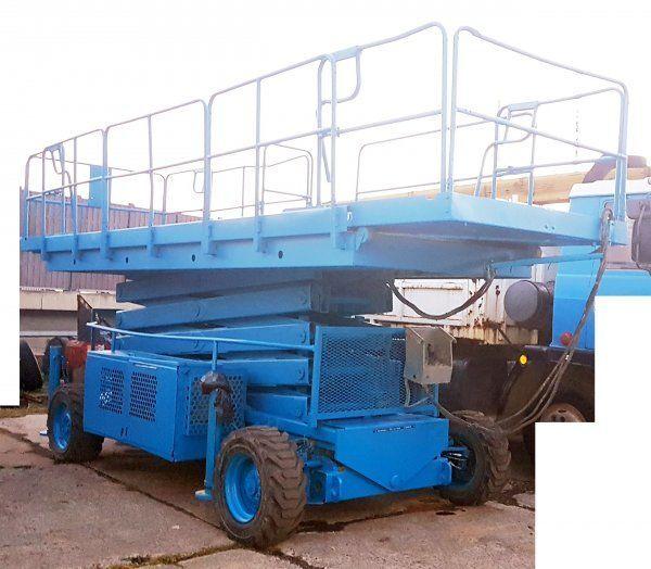 UPRIGHT 17m diesel 4x4 (Snorkel LX 50 plataforma de tijera