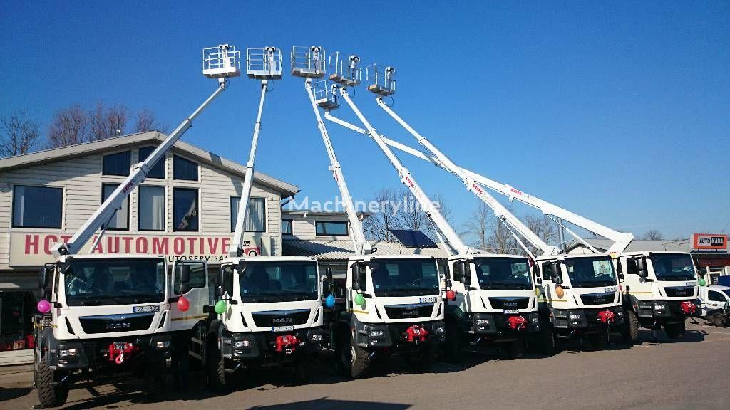 CMC PLA190 plataforma sobre camión