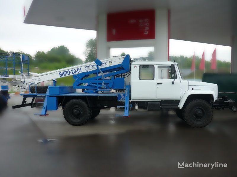 GAZ Sadko plataforma sobre camión