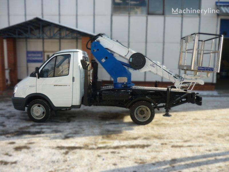 GAZ VIPO-12t na baze GAZEL plataforma sobre camión