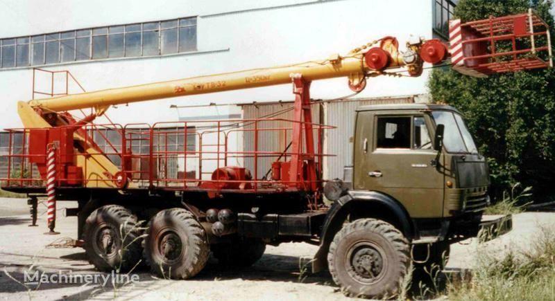 KAMAZ TV-32 plataforma sobre camión