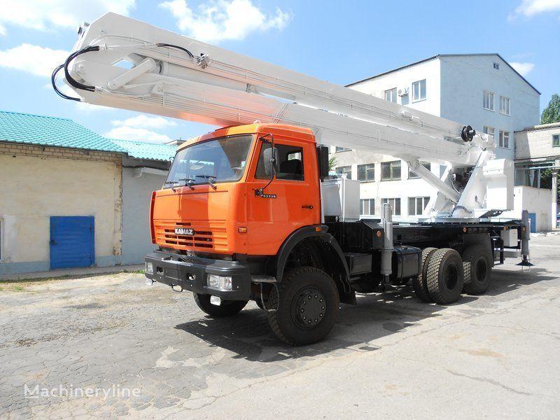 KAMAZ VS-32  plataforma sobre camión