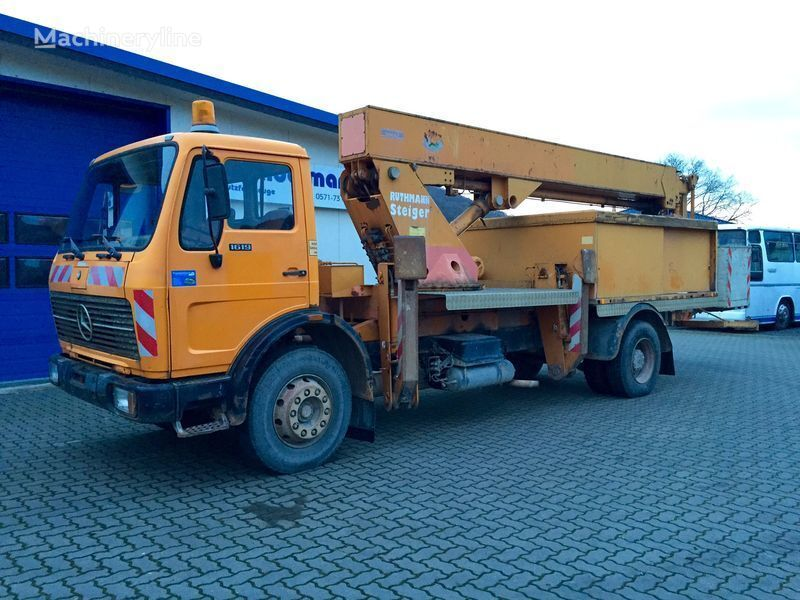 MERCEDES-BENZ SK 1619 KO plataforma sobre camión