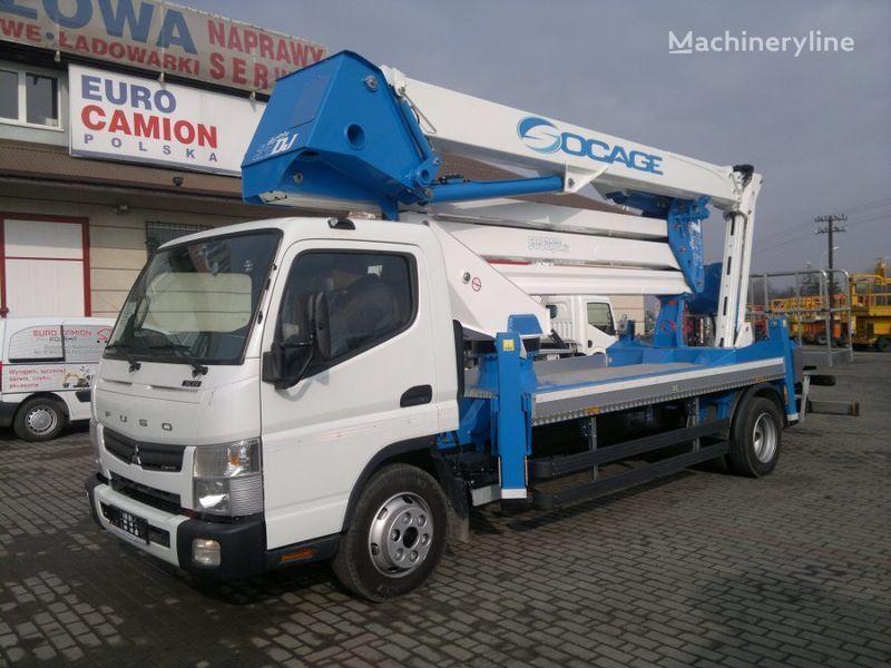 plataforma sobre camión MITSUBISHI  Canter Fuso nowy podnośnik koszowy zwyżka 32m nueva