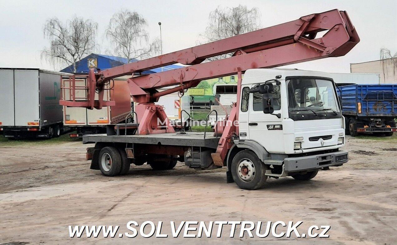 RENAULT Midliner M180.12  plataforma sobre camión