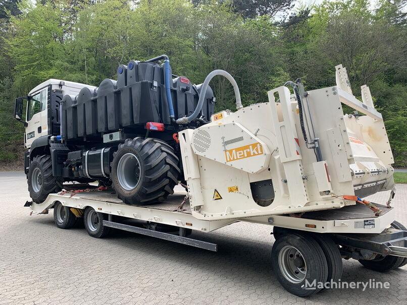 recicladora de asfalto WIRTGEN WS250 mit MAN TGS 4x4