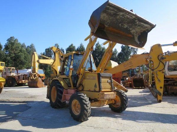 CASE 580K retroexcavadora para piezas