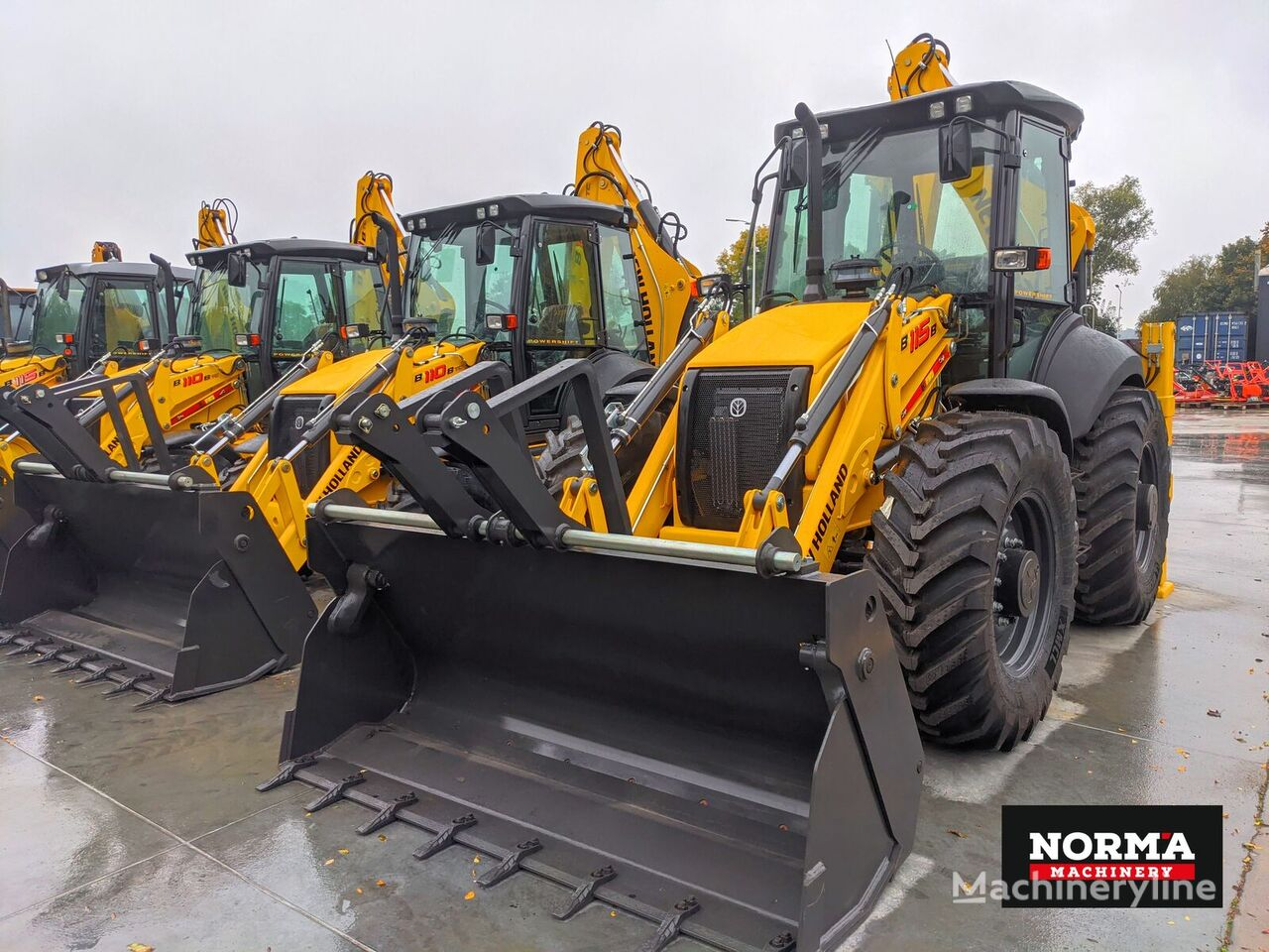 NEW HOLLAND B115B retroexcavadora nueva