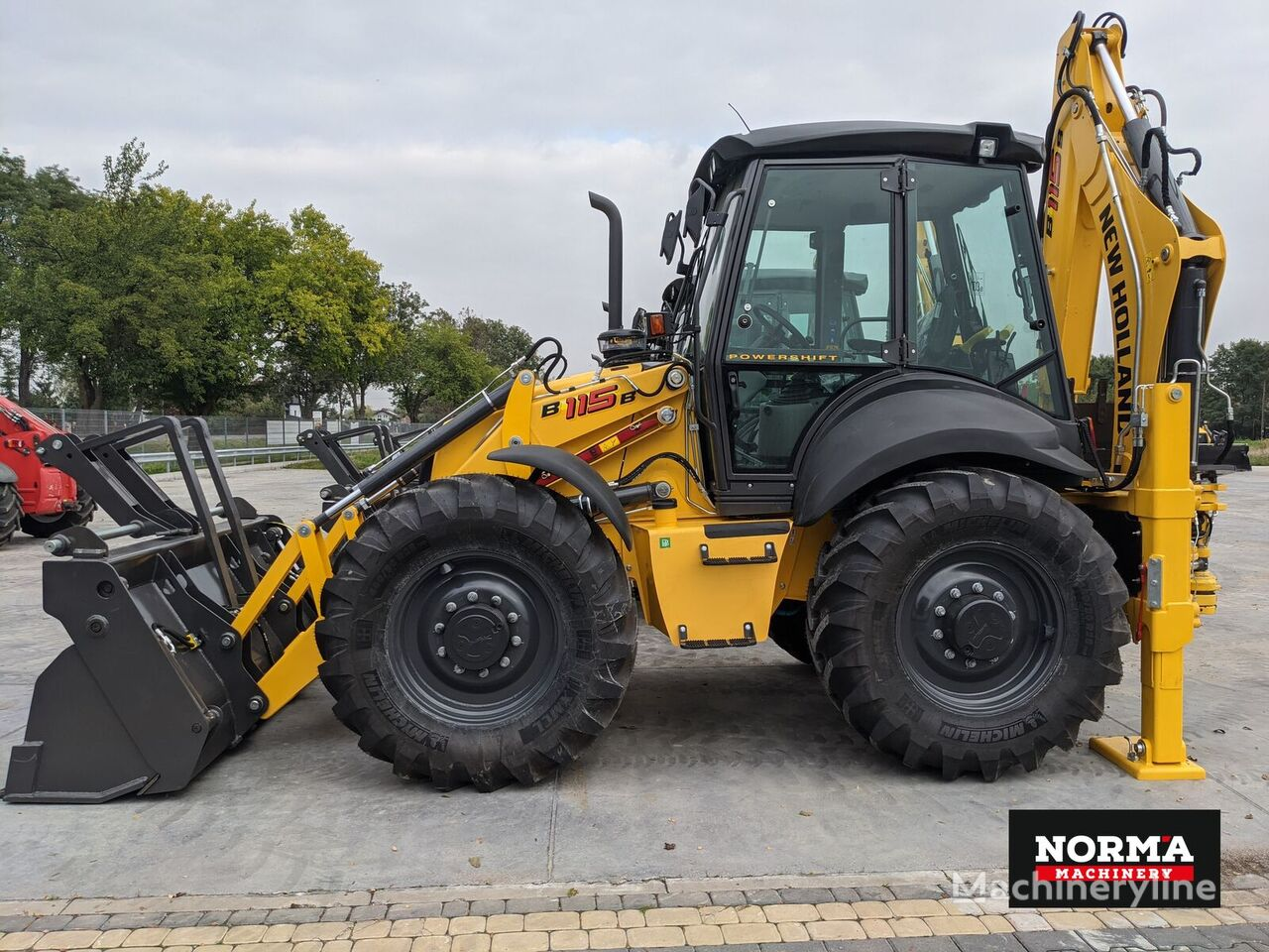 NEW HOLLAND B115B retroexcavadora