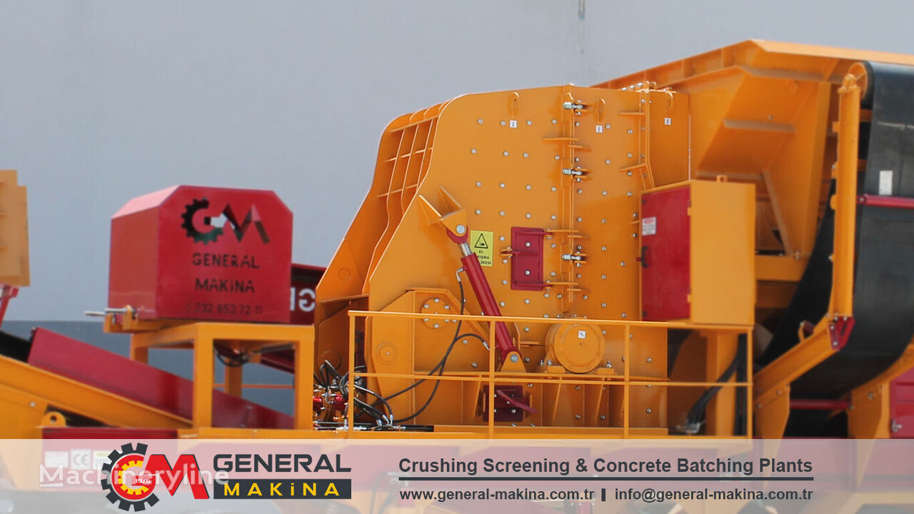 GENERAL MAKİNA PDK01 Impact Stone Crusher trituradora de impacto nueva