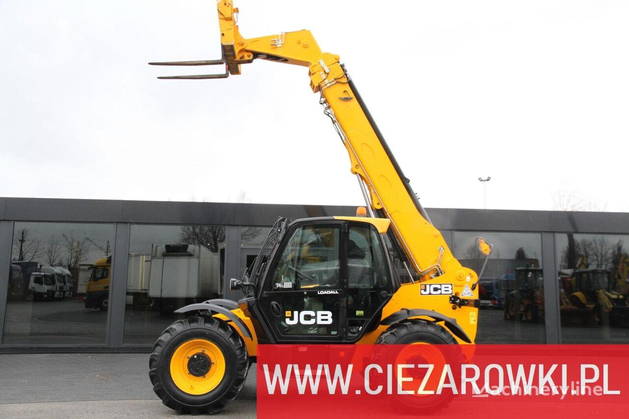 JCB 540-140 / HiViz / 4t / 14m / turbo / powershift / a/c cargadora telescópica