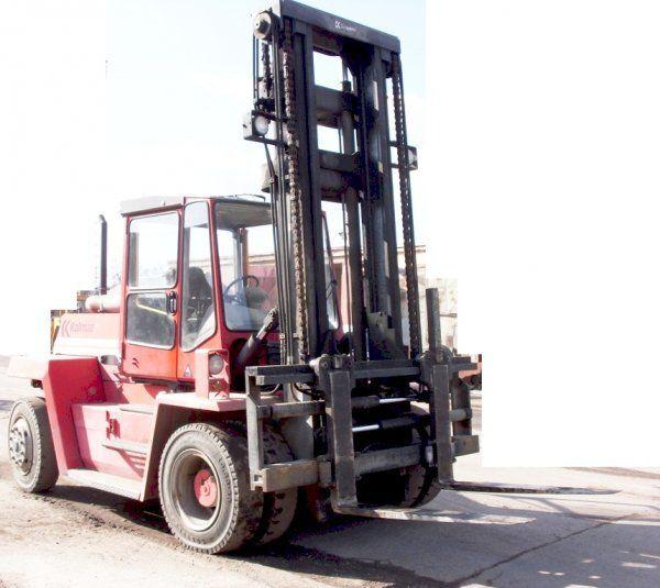 KALMAR DCD 100 6XL carretilla elevadora de contenedores