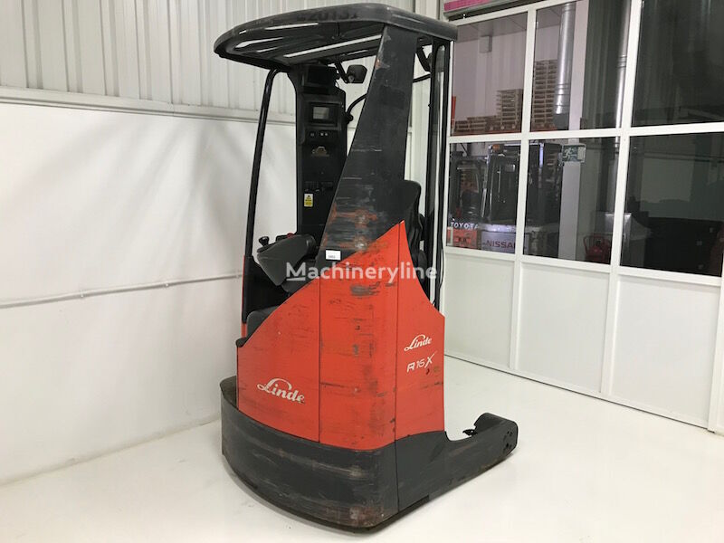 LINDE R16X carretilla retráctil