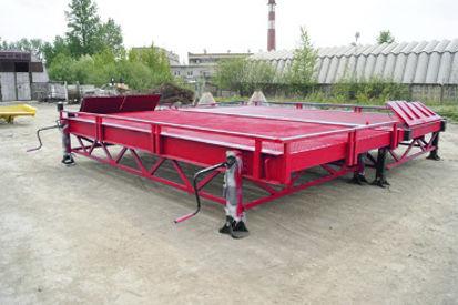 rampa de carga móvil DOCKER Stationary Loading Ramp 8 ton RMM-2-23-40-8 nueva
