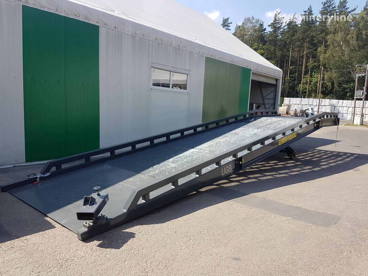 rampa de carga móvil Konteinerių pakrovimo mobili rampa nueva