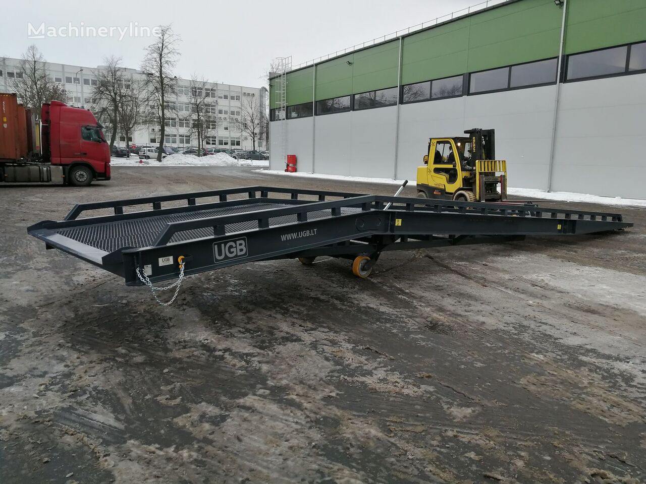 rampa de carga móvil UMR-10000  20 tonų nueva